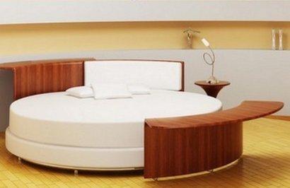Prot ge matelas pour lit rond nicole germain vosges vente en - Drap housse pour lit rond ...