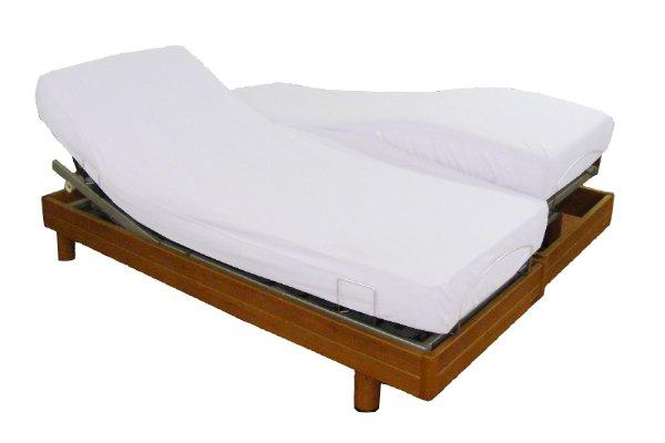 prot ge matelas t te et pied relevables nicole germain vosges. Black Bedroom Furniture Sets. Home Design Ideas